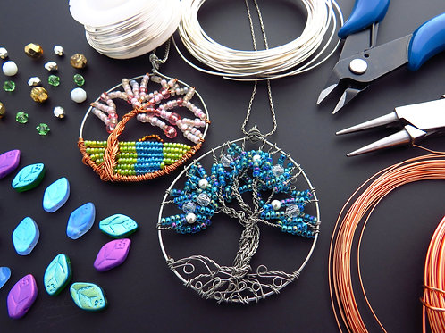 Create A Tree of Life Necklace - Thursday 10/28 5PM - 6:30PM