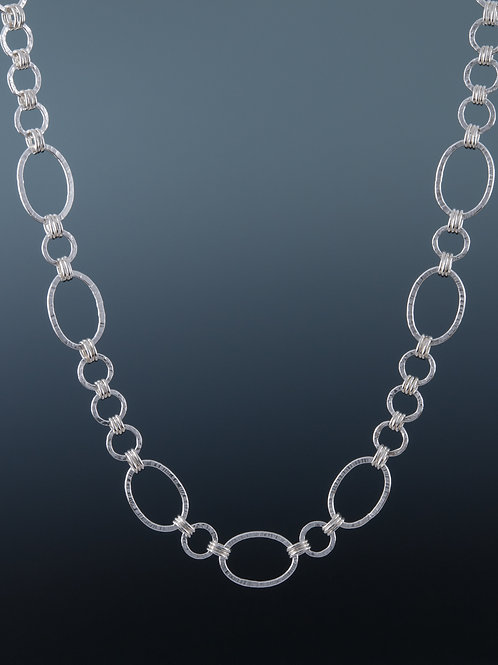 """Laurie Schutt Jewelry """"Textured Bettsie"""" Necklace"""