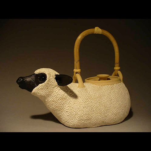 Handmade Functional Sheep Teapot