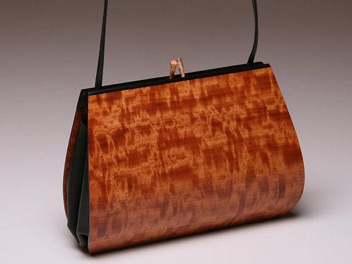 Handmade Wooden Purse Bag Calliandra Makore