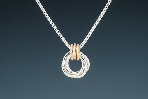 """Laurie Schutt Jewelry """"Love Knot"""" Necklace"""
