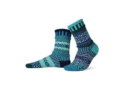 Solmate Socks Evergreen Crew Sock