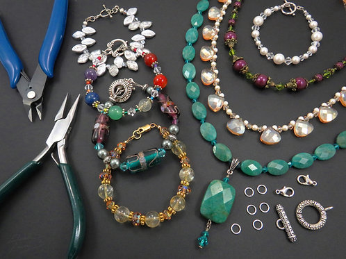 Crafting Professional Style Necklaces and Bracelets - Thursday 8/19 5PM - 6:30PM