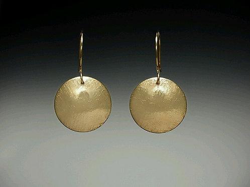 """Laurie Schutt Jewelry """"Harvest Moon"""" Earrings"""