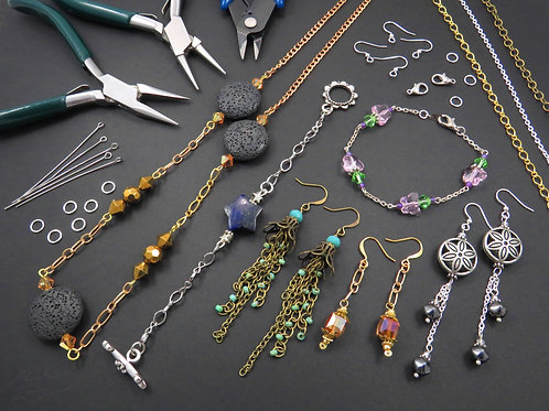 Crafting Jewelry with Chain Elements - Thursday 9/2 5PM - 6:30PM