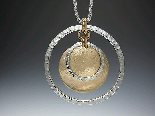 "Laurie Schutt Jewelry ""Saturn"" Necklace"