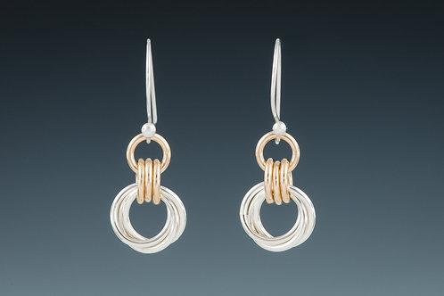 """Laurie Schutt Jewelry """"Love Knot"""" Earrings"""