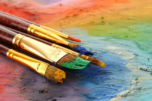 The Joy of Color - Wednesdays 7/7 to 7/28  5-6:30PM