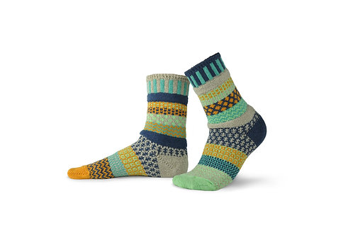Solmate Socks Aloe Crew Sock