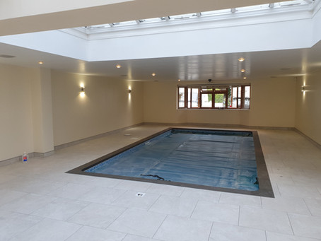 Refurbishment of swimming pool room