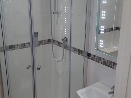 Bathroom refit in Farnborough