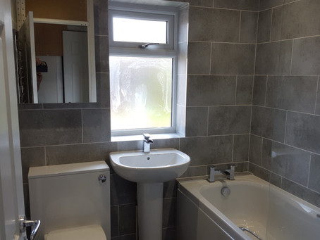 Bathroom refurbishment in Bisley