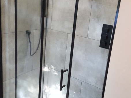 Master en-suite bathroom refurbishment Hook Heath