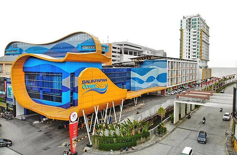 Balikpapan Ocean Square facade