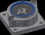 EXV axial thrust bearing units