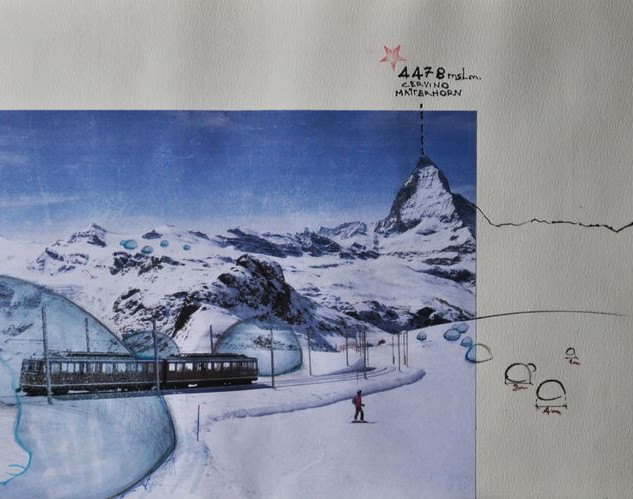Verbier- Swatch- nothing is forever