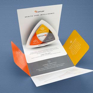 Optum pop-up brochure