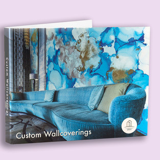 Pictura Custom Wallcoverings portfolio hard-cover