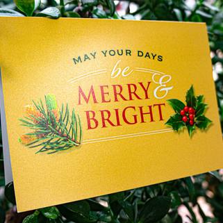Optum Kodak Gold holiday card