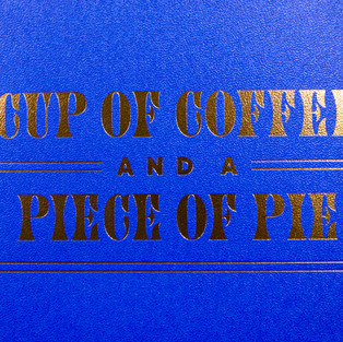 Cup of Coffee foil-stamped sleeve