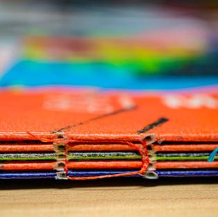 Japanese-sewn binding