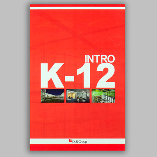 DLR K-12 Intro trifold with Kodak Red
