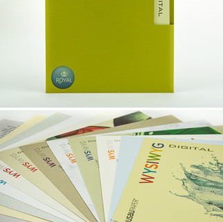 Wausau Paper WYSIWYG ring-bound booklet in sleeve