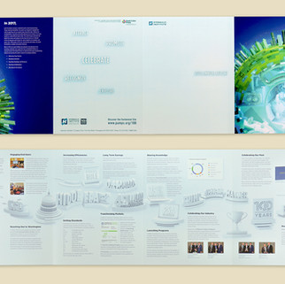 Hydraulic Institute 8.5 X 11 double-gatefold 8-pager