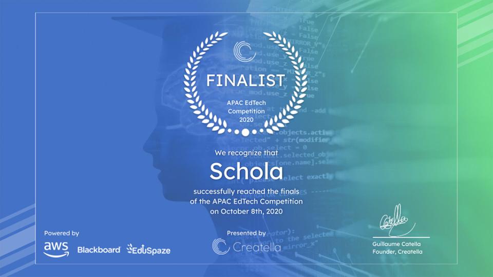 ScholaKids, top 5 cuộc thi tương lai giáo dục Châu Á- Thái Bình Dương, tiếng anh thiếu nh, tiếng anh online 1 kèm 1 tốt nhất tại Việt Nam
