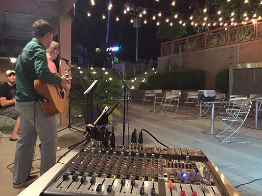 Sound setup for small event