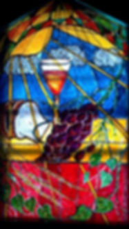 Communion Window at Peace UCC