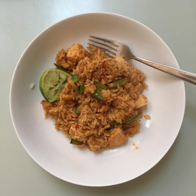Recipe - Mango Tofu Fried Rice