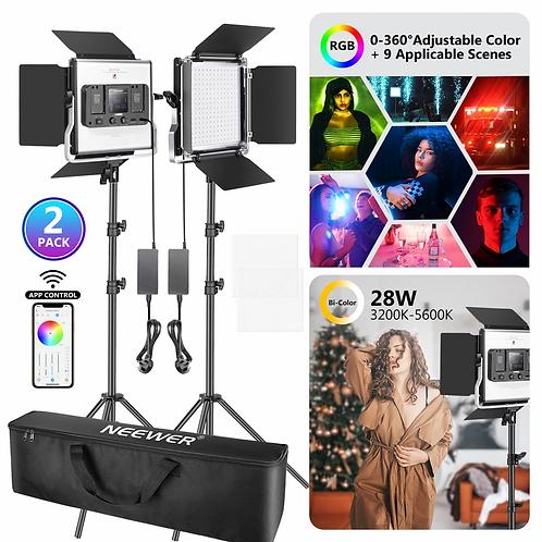 Kit d'éclairage photo et vidéo