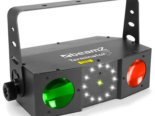 Effet lumineux avec gobo et laser