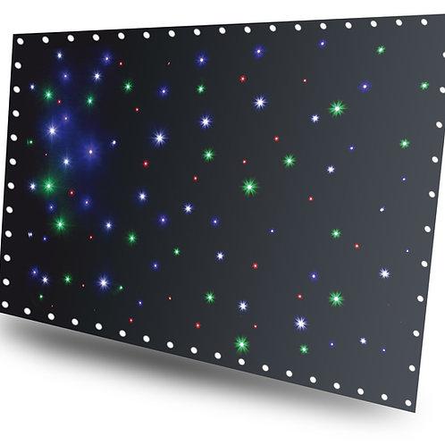 Tissu étoilé a led RGBW