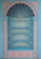trompe l'oeil, trampantojo, decoracion, muebles, vintage, old, furniture, interiorismo, arte, pintura, silvia guzman, sgarte, murales, perspectiva