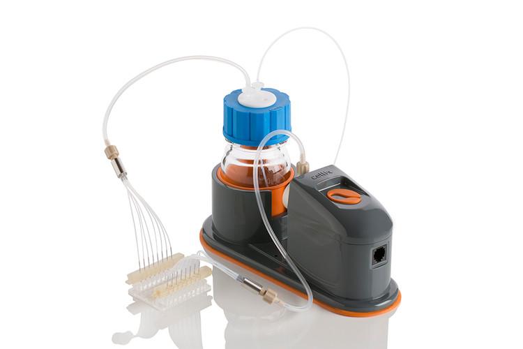 Kima Pump connected to Vena8 Biochip