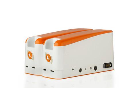 2 UniGo pumps plugged together