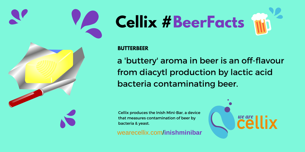 Cellix #BeerFacts - Butter