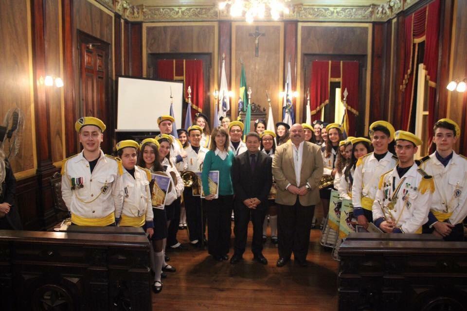 Homenagem da Câmara Municipal