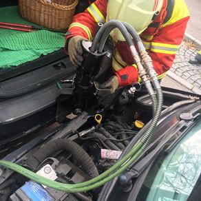 Hilfeleistung nach Verkehrsunfall