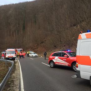 49. Einsatz Verkehrsunfall mit Rettung