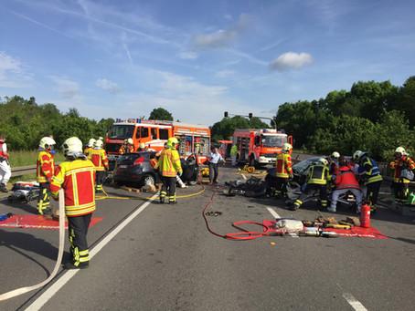 Verkehrsunfall B312