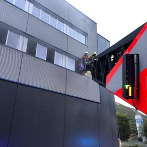 Brandeinsatz in Lichtenstein