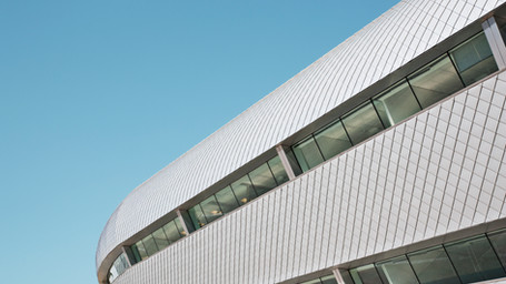 Abstract Building Exterior
