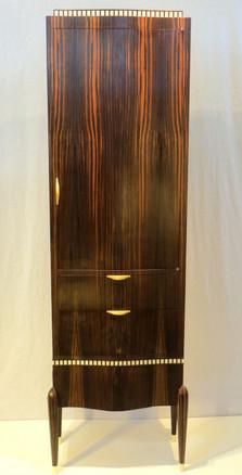 Ruhlmann-inspired Art Deco style