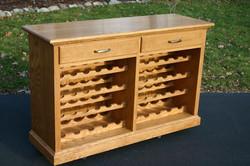 Custom Oak Sideboard to match existing furnishings