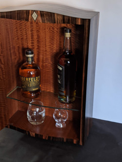 Wall Mount Mini Ruhlmann Scotch Cabinet