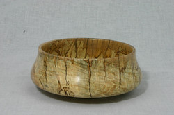 Spalted and figured Maple tulip bowl