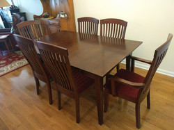 Solid American Black Cherry Dining table